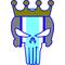 Kansas City Royals Punisher Decal / Sticker 40