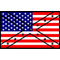 American Confederate Flag Decal / Sticker 27