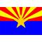 Arizona Flag Decal / Sticker 02