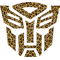 Autobot Leopard Print Decal / Sticker 30