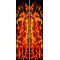 z 10 Inch Dual True Fire Racing Stripe Decal / Sticker 22