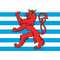 Luxembourg Flag Decal / Sticker  02