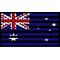 American Australian Flag Decal / Sticker 01