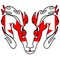Canadian Flag Ram Decal / Sticker 2701