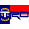 North Carolina Flag Toyota TRD Decal / Sticker 15