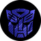 Dark Blue Carbon Plate Autobot Transformers Decal / Sticker 32
