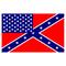 American Confederate Flag Decal / Sticker 51