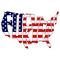 Fuck Yeah USA America Decal / Sticker 02