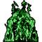 Green True Fire Decal / Sticker 06