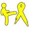 Kicking Bone Cancer's Ass Decal / Sticker 01
