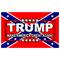 TRUMP Confedrate Flag Decal / Sticker 06