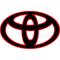 Toyota Logo Decal / Sticker 10