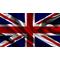 British Union Jack Flag Decal / Sticker 08