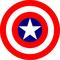 Captain America Shield Decal / Sticker 04