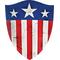 Captain America Original Shield Decal / Sticker 08