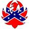 Confederate Flag Hank Williams Jr. Decal / Sticker 07