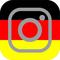 German Flag Instagram Decal / Sticker 07