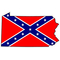 Pennsylvania Confederate Flag Decal / Sticker 03