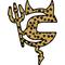 Cheetah Print Cannondale Devil Decal / Sticker 02