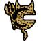 Cheetah Print Cannondale Devil Decal / Sticker 03