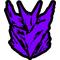 Purple Decepticon Decal / Sticker 37