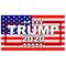 TRUMP 2020 American Flag Decal / Sticker 11