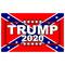 TRUMP 2020 Confedrate Flag Decal / Sticker 12