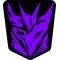 Purple Decepticon Decal / Sticker 39
