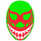 Mil Mascaras Decal / Sticker 03