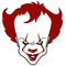 Pennywise The IT Clown Decal / Sticker 03