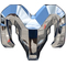Simulated 3D Chrome Ram Decal / Sticker 46
