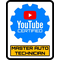 YouTube Certified Master Auto Technician Decal / Sticker 10