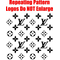 Louis Vuitton Step and Repeat Pattern Decal / Sticker 09