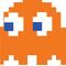 Pac-Man Clyde Decal / Sticker 09