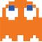 Pac-Man Clyde Decal / Sticker 19