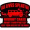 All Lives Splatter Decal / Sticker 02