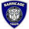 Barricade Police Shield Decal / Sticker