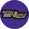 Circular Royal Purple Decal / Sticker 11