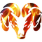 True Fire Ram Decal / Sticker 48