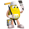 Yellow Painter M&M Decal / Sticker 46