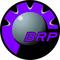 Purple BRP Decal / Sticker 15