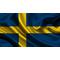 Sweden Flag Decal / Sticker 04