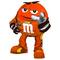 Orange NASCAR M&M Decal / Sticker 64