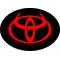 Toyota Devil Horns Decal / Sticker 06