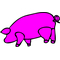 Pink Floyd Pig Decal / Sticker 15