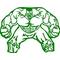 Hulk Decal / Sticker