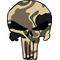 Camouflage Punisher Decal / Sticker 11