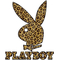 Leapord Print Playboy 02 Decal / Sticker