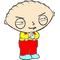 Stewie Decal / Sticker 03
