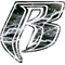 White Lightning Ruff Ryders 02 Decal / Sticker